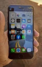 IPhone 7 preto brilhante. 128 GB