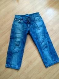 Bermudas Jeans - Tamanho 40