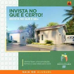 Título do anúncio: P/M: Boulevard II com terreno maior ( última unidade  de R$214.000,00)