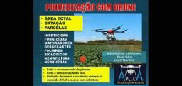 Pulverização com Drone