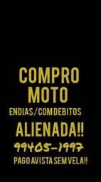* compr@ moto avista!! Endias Atrasada Batida parada