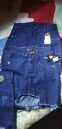 Shorts e saias jeans 45$cada