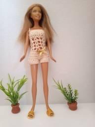 Roupinha Barbie macaquinho