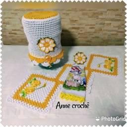 Crochê feito à mão
