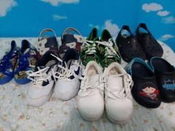 Combo calçados tamanho 23 e 24....