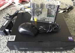 DVR Intelbras para 08 Câmeras + 02 Por Instalação IP