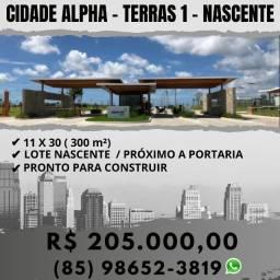 Cidade Alpha Terras 1 - Nascente!!!