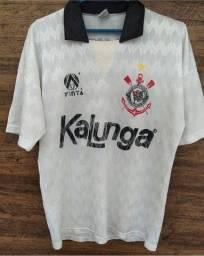 Camisa Corinthians 1991 balãozinho
