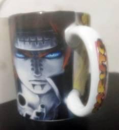 Caneca de porcelana Naruto - estampa em 365°