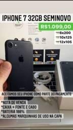 Título do anúncio: iPhone 7 32GB Seminovo