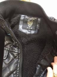 Título do anúncio: Jaqueta de couro legitimo masculina infantil