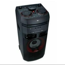 LG Xboom Ok55 Bluetooth Mini System Torre Usb Mp3 Fm - 500w
