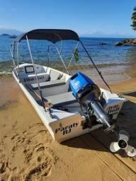lancha bote artsol 5,30 motor yamaha 40 hp
