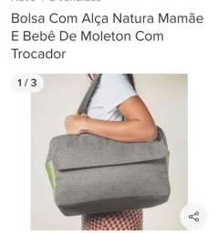 Título do anúncio:  Bolsa com alça mamãe natura bebê