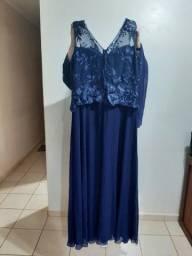 Vestido Longo de Festa feminino - usado 1 vez