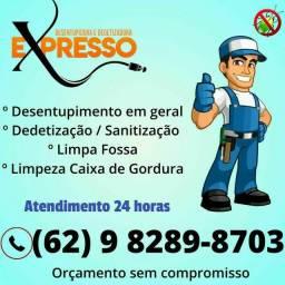 Título do anúncio: DESENTUPIDORA COM MENOR PREÇO DE GOIÂNIA.