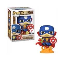 Funko Pop! Solado Supremo - Marvel #679 Novo, Lacrado e Original!