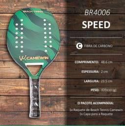 Raquete beach tennis camewin