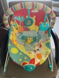 Cadeira para bebê com vibração
