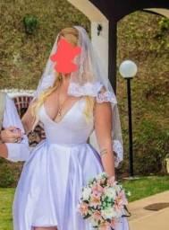 Vestido de Noiva High Low