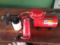 Título do anúncio: Vendo compressor de ar direto 1/3 hp Chiaperini Red. Bivolt. <br>NUNCA USADO. <br>