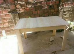 Promoção mesa de madeira pronta entrega
