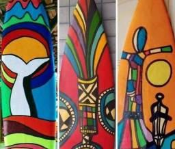 Arte Pranchas surf   decoração  Pra Casa