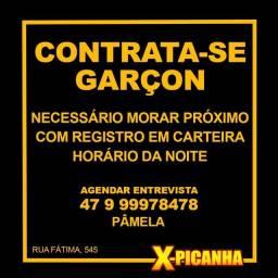 Título do anúncio: Garçon