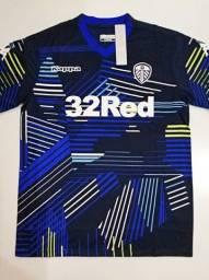 Camisa Leeds United Away Kappa 18/19 - Tamanho: G