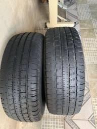 Vendo pneus aro 15 estava numa Hilux 2008
