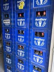 Caixas litrao secas com 12 cascos cada