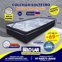 Colchão Ortobom Solteiro, Compre no zap *