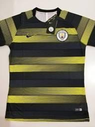 Camisa Manchester City Pre-Match Nike 18/19 - Tamanho: P