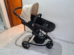 Travel System Mobi Safety 1st Carrinho, bebê Conforto e base