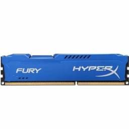 Memória Gamer Kingston DDR3 Fury  8GB 1600/1866