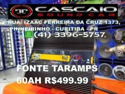Título do anúncio: fonte carregador bateria taramps 60 60a 60ah a ah amperes som automotivo