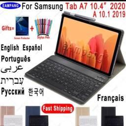 Título do anúncio: Capa teclado para tablet Samsung Tab A 7