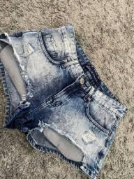 Short jeans 34/36 Zara e Renda