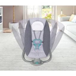 Título do anúncio: Cadeirinha de Balanço automática - cadeira de bebê vibra música bluetooth