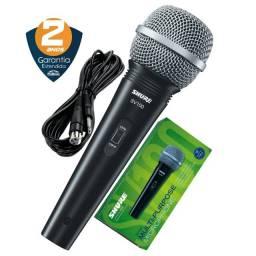 Título do anúncio: Microfone Shure Com Fio Sv100 + Cabo | 2 Anos De Garantia | Produto Novo - Loja Física