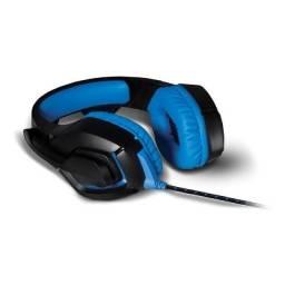 Título do anúncio: Headset Gamer Warrior Straton Usb 2.0 Stereo LED Azul - PH244 *NOVO
