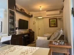 AvallonII Apto 65m2 2 Dorms,Sala de jantar e TV 1 banheiro Cozinha conjugada Área gourmet