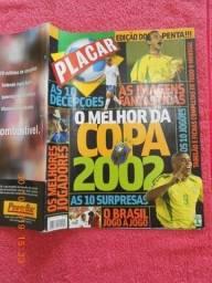 Revista Placar O Melhor Da Copa 2002 Abril Edição 1231