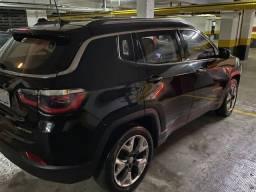 Título do anúncio: Jeep Compass Limited 2.0 Flex Automatico Preta Blindada 2018