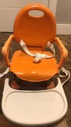 Cadeira de alimentação portátil Chicco (Pocket Snack Chicco cor Laranja)