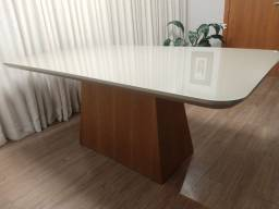 Linda mesa jantar madeira x laca
