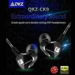 Fone de ouvido QKZ ck9 para retorno de palco Original
