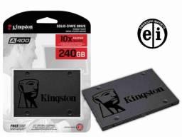 Título do anúncio: SSD 240gb Kingston Disco Sólido HD 2.5 Notebook Computador Ps4 - Entrega Grátis