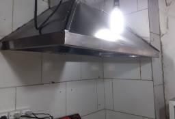 Coifa Inox p/cozinha industrial, lanchonetes e etc