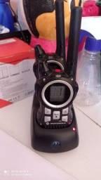 Par de rádio comunicador